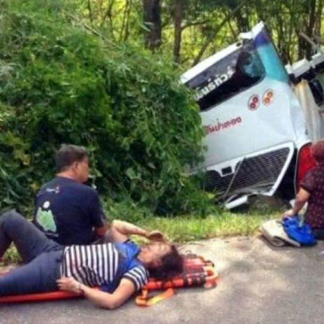 CNXinsure-ChiangMai-TrafficAccident BusTree