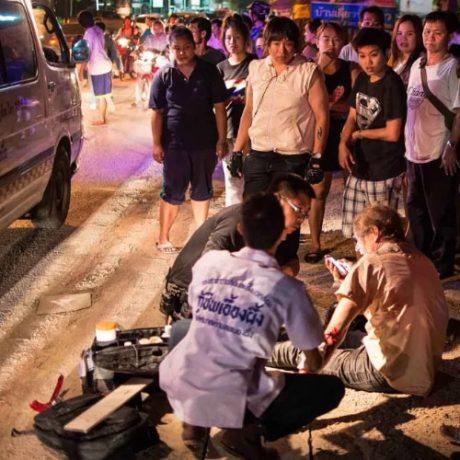 CNXinsure-ChiangMai-TrafficAccident PersonInjury