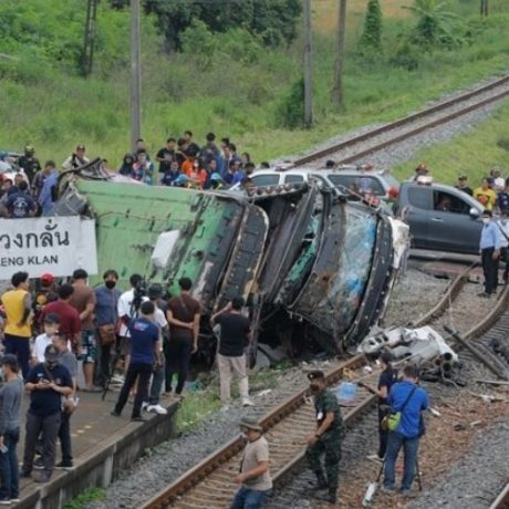 CNXinsure-ChiangMai-TrafficAccident Train